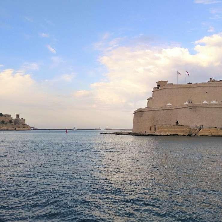 Malta Valletta Grand Harbour