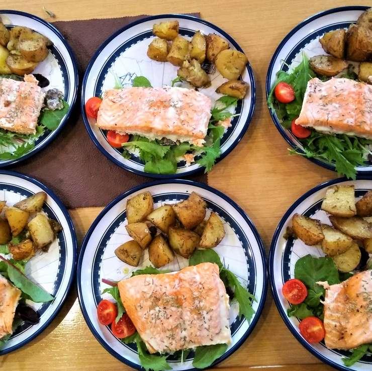 Dinner at Anchor